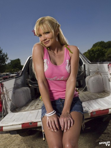 My Name is Earl wallpaper probably with a tailgate entitled Jaime Pressly as Joy Turner [Season 2]