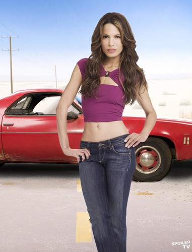 My Name is Earl wallpaper possibly containing an automobile titled Nadine Velazquez as Catalina [Season 4]
