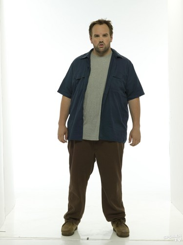 My Name is Earl wallpaper containing long trousers, an outerwear, and flannel called Ethan Suplee as Randy Hickey [Season 4]