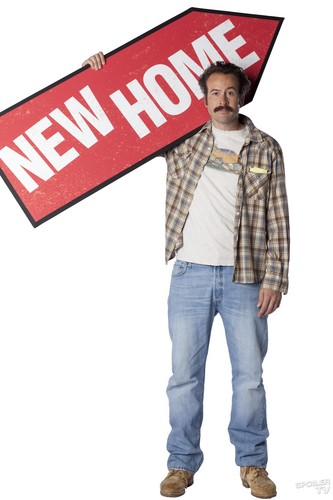 My Name is Earl wallpaper probably containing long trousers, bellbottom trousers, and a boater called Jason Lee as Earl Hickey [Season 4]