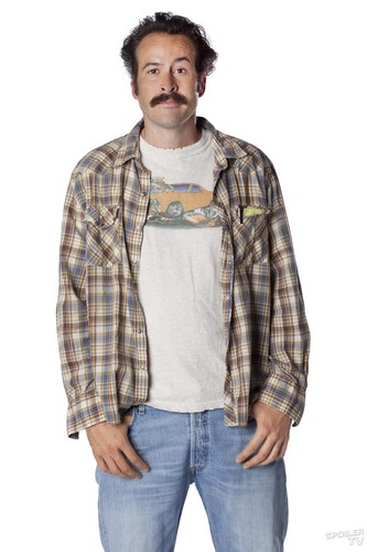 My Name is Earl wallpaper possibly with flannel, bellbottom trousers, and long trousers called Jason Lee as Earl Hickey [Season 4]