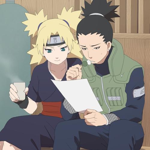 Naruto Couples ♥ fond d'écran with animé called Shikamaru Nara and Temari