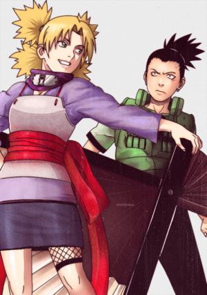 Shikamaru Nara and Temari