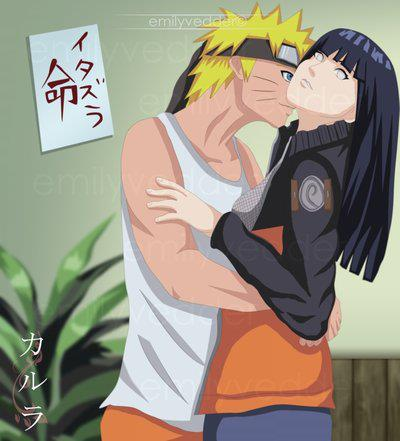 Naruto Couples ♥ achtergrond entitled Naruto and Hinata