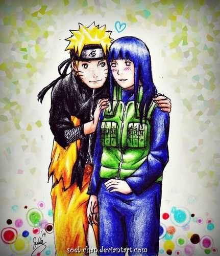 Naruto Couples ♥ fond d'écran with animé called Naruto and Hinata