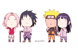 SasuSaku and NaruHina