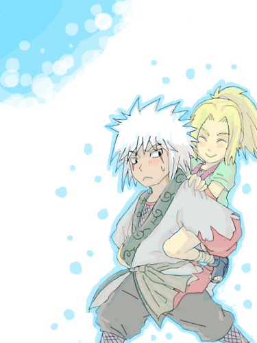 Naruto Couples ♥ achtergrond possibly with anime entitled Tsunade and Jiraya