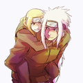 Tsunade and Jiraya