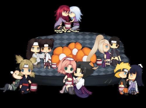 Naruto Couples ♥ fond d'écran titled ShikaTema, NejiTen, SasuSaku, SuiKa, SaiIno and NaruHina