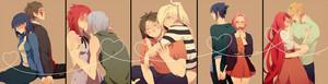 KibaHina, SuiKa, ChojIno, SasuSaku and KushiMina