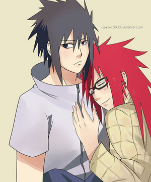 Sasuke and Karin