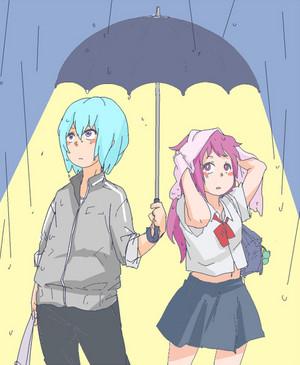 Suigetsu and Karin