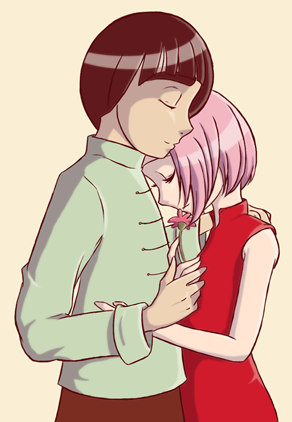 Sakura and Lee