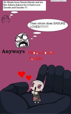 Hidan loves Jashin