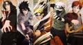 Itachi, Sasuke, Naruto, Kakashi and Gaara