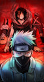 Kakashi Hatake and Obito Uchiha - naruto fan art
