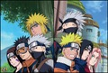 naruto - Minato's team and Kakashi's team wallpaper