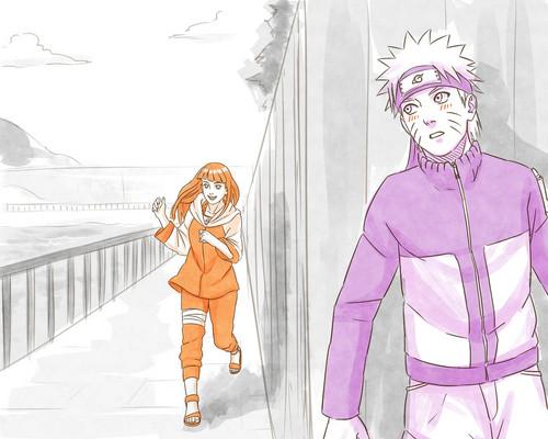 Naruto wallpaper probably with anime called Hinata and Naruto