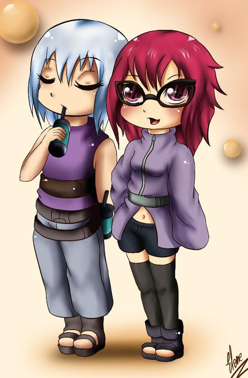 Karin and Suigetsu