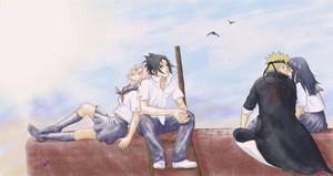 Sasuke and Sakura, Naruto and Hinata