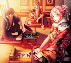 Sasuke, Sakura and Naruto