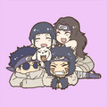 Kurenai Sensei, Hinata, Kiba and Shino - naruto fan art