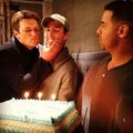 Nathan and Jon-BTS season 6 - nathan-fillion-and-stana-katic photo