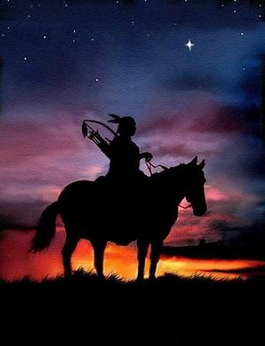 Warrior on Horse