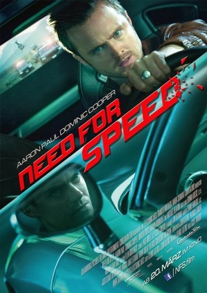 Need For Speed The Movie - German Poster