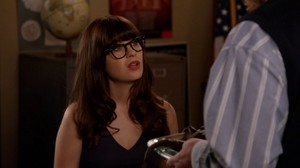 "New Girl 3x11 ""Clavado en un Bar"" trophée"