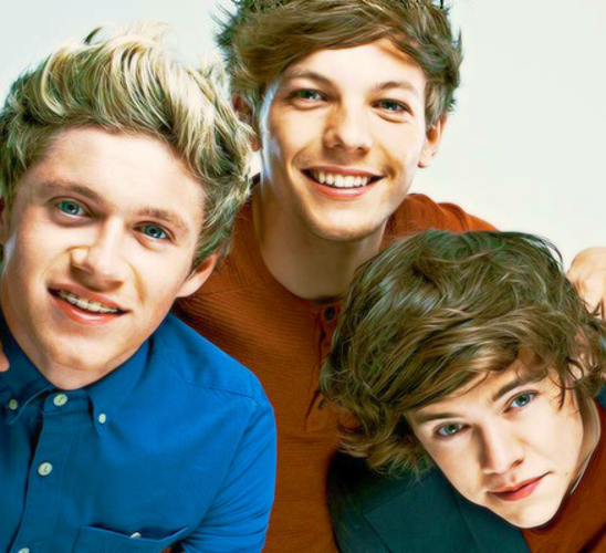 Niall Louis and Harry