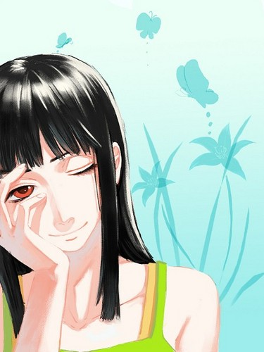 Nico Robin wallpaper possibly containing a portrait called ♥˚Nico Robin˚ღ