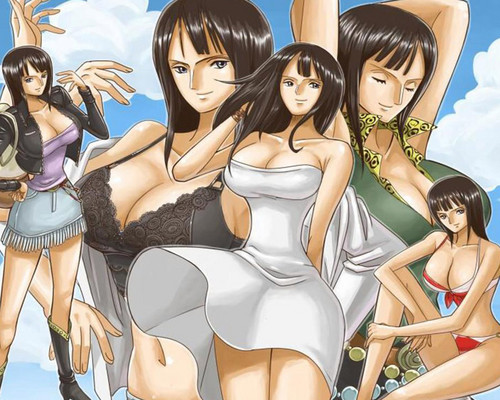 Nico Robin achtergrond possibly containing attractiveness and a portrait entitled ♥˚Nico Robin˚ღ