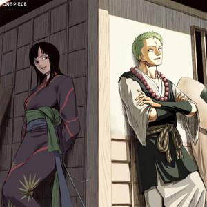 *Robin & Zoro*