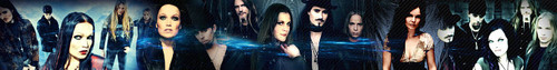 Nightwish photo called Banner for the spot look