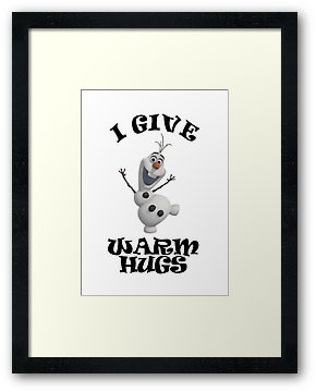 Olaf: I Give Warm Hugs
