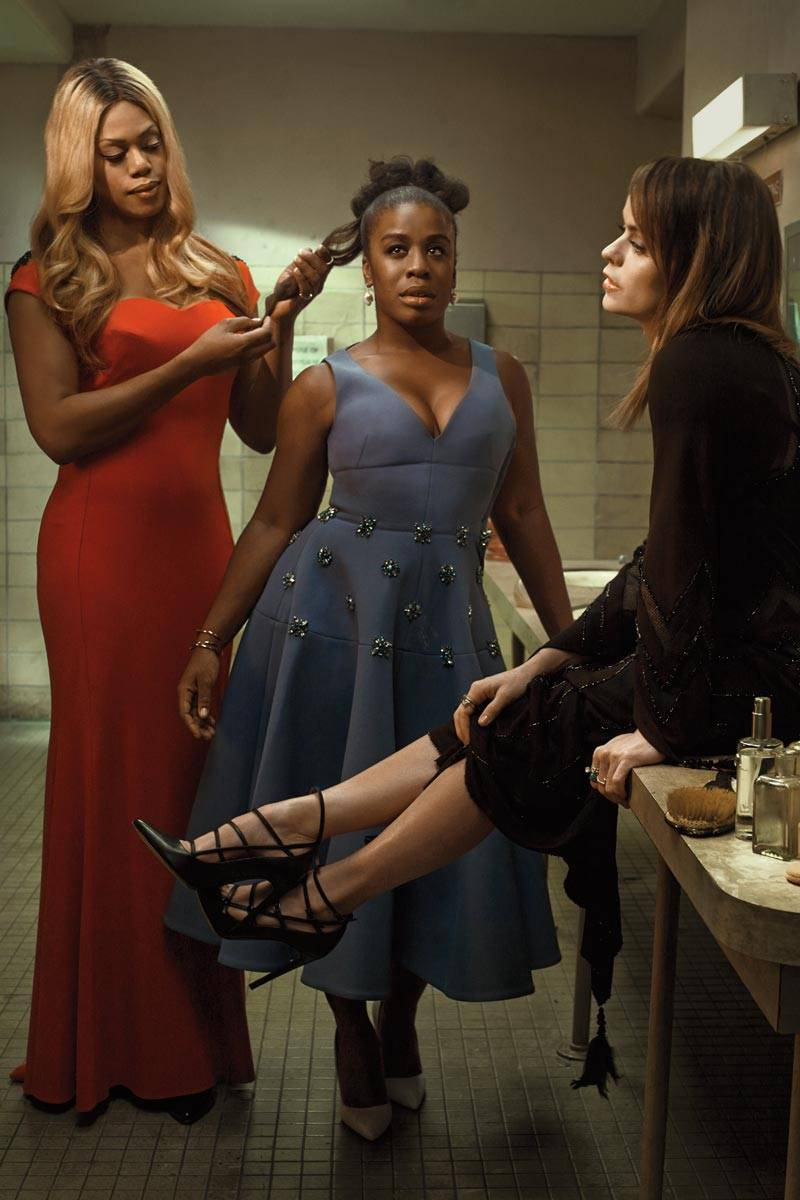 The Cast of Orange Is The New Black for Elle Magazine