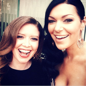 2014 Golden Globes Laura Prepon and Natasha Lyonne