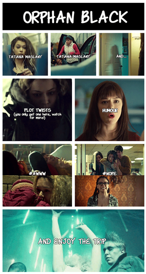 orphan black - rasons to watch