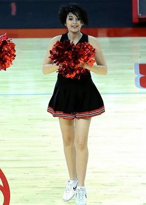 Paris As A Cheerleader