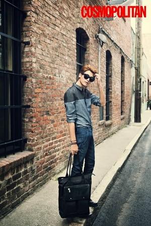 Hyungsik for 'Cosmopolitan'