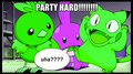 Party hard (a vary shiny mudkip pic) - pokemon fan art
