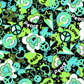 lime green awsome peace sign