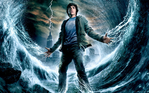 Percy Jackson vs Harry Potter wallpaper with a fontana and a glory hole entitled Percy In The Lightning Thief