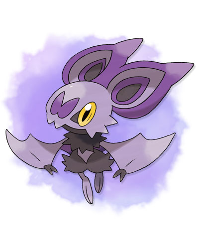 Pokémon wallpaper possibly containing anime entitled Pokemon X&Y: Noibat