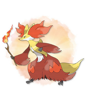 Pokemon X&Y: Delphox