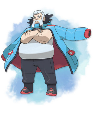 XY Gym Leader Wulfric