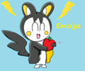 Emolga drawing - pokemon fan art
