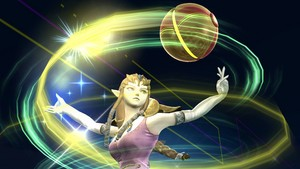 Princess Zelda in Super Smash Bros. 4