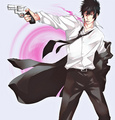 Shinya Kōgami - psycho-pass fan art